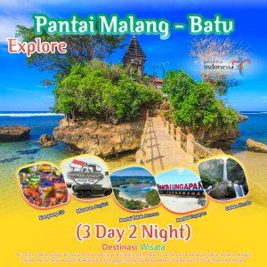 Explore Pantai Malang – Batu (3 Day 2 Night)